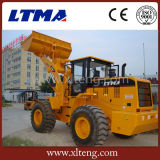 漢籍の機械装置販売のための5トンのフロント・エンドローダー