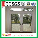 Porte en aluminium de tissu pour rideaux de la meilleure qualité avec glacer isolé