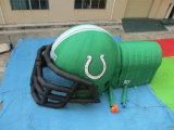 スポーツ・イベントのための膨脹可能な広告のフットボール用ヘルメットのトンネル