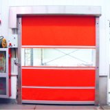 PVC速いFrameless折れ戸のIndustrilの自動ドア(HF-J323)