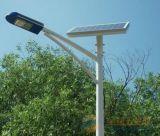 Luz de calle solar de moda de Haochang con poste ligero
