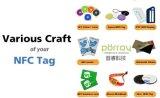 Tag personalizado de 13.56MHz Watrproof Ntag213 NFC