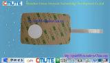 Interruptor de membrana de la bóveda del metal de la almohadilla que graba