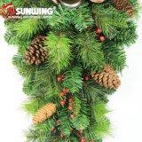 Parede artificial do Natal novo barato do projeto que pendura para a decoração Home