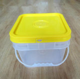 Ведро 2L 5L 8L 10L 15L 20L хранения еды HDPE/PP безопасное ясное пластичное