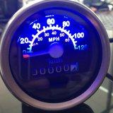 기관자전차 ATV 스쿠터 60mph와 Kph 속도계 거리계 계기