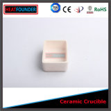 Qualität Rectangular Ceramic Crucible für Lab Use