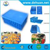 Grandes recipientes plásticos Stackable recipientes rígidos do vegetal ou da fruta