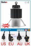 25 60 100 Grad-Aluminiumreflektor EU wir industrielles hohes Bucht-Licht Au Großbritannien-LED mit Stecker