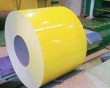 Dx51d+Zの鋼材PPGI/PPGLは鋼鉄コイルに電流を通した