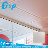 Plafond faux décoratif enduit de poudre blanche pour la construction commerciale de bureau