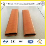 Conduit plat de HDPE pour le poste tendant et précontraignant