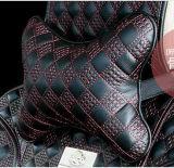 Het patroon-Zilver van de Knoop van de Vorm van het Been van het Hoofdkussen van de Hals van de Hoofdsteun van de auto Chinese Zwarte
