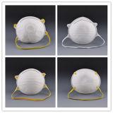 Nuevo diseño desechables no tejidas máscara de polvo con válvula de aerosol
