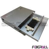 """1u 19"""" El estante de aluminio montó el tipo de la diapositiva del panel de corrección de fibra"""