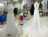 Aoliweiya fêz para requisitar o vestido de casamento real da praia da amostra