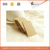 Подгонянные специальные бирки Hang одежды печатание ярлыка