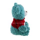 Ursos quentes da peluche do luxuoso do animal enchido da venda que desgastam o urso da camisola