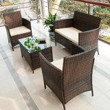 Insieme esterno del sofà del raggruppamento della stanza di seduta del salotto del rattan della mobilia del patio del giardino