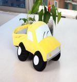 Cute Yellow Plush Truck Stuffed Toys