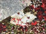 Blume gedrucktes Polyester Microfiber Gewebe für Bett-Blatt Hometextile Gewebe