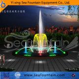 Fuente neta inoxidable del suelo del grado de la tapa del diseño de Seafountain