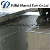 다이아몬드 세그먼트 대리석 석판 절단 도구 대리석 악대는 톱날을
