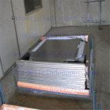 Plaat van de Kathode van het Koper van het titanium de Beklede voor Natte Metallurgie