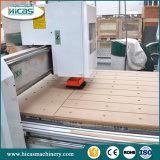 固体木のドアのための3D CNCのルーター