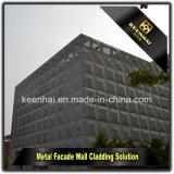 Laser 커트는 장식적인 옥외 판금 알루미늄 외벽을 깐다