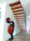 Escalier flottant à l'escalier grand Escalier à câbles