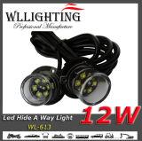 2X6 차 경고등 은신처 방법 백색 LED
