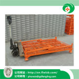 Gaiola de dobramento da logística do metal para o armazém com Ce por Forkfit