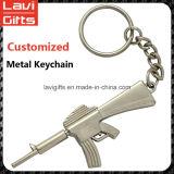 Carro de metal feito sob encomenda elevado Keychain de Quingity