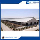 Efficace magazzino d'inquadramento chiaro della struttura d'acciaio con la certificazione