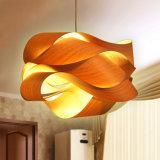Hölzernes helles dekoratives hängendes Licht für Hotel-Gaststätte