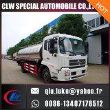 Vrachtwagen van het Vervoer van de Melk van de Tanker van de Melk van de Melktank van Inox de Materiële Verse