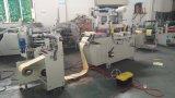 Máquina cortando do papel de etiqueta adesiva com função de perfuração e de estratificação