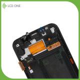 Mobiler Zubehör LCD-Abwechslungs-Bildschirm für Rand Samsung-S6 mit Rahmen