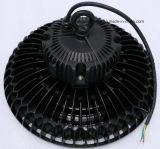 Luz industrial aprobada de la bahía del UFO del disipador de calor IP65 80W del lumen de la UL de RoHS del Ce alta alta