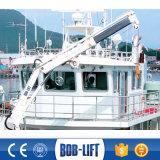 販売のための3トンの望遠鏡の海洋クレーン