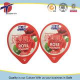 coperchio di 95mm Aaluminium con impresso e stampa alla tazza del yogurt