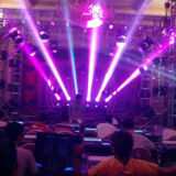 DJ Luz 230W 7R Sharpy Stage DMX Moving Head feixe