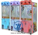 Máquina de juego divertida de la venta de la garra de la grúa 2017 (ZJ-CG19)