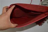 Сумка сплетенная ротангом оплетки сумки конструктора PU кожаный Deco Tote женщин плеча Zxk1536