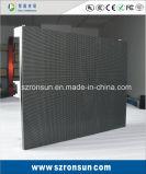 Tela de indicador interna Rental de fundição de alumínio do diodo emissor de luz do estágio do gabinete de P4.81mm