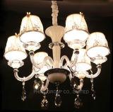 Luz de cristal do cliente do candelabro do projeto do hotel com Ce, UL RoHS