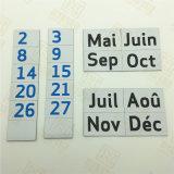 El calendario 2017 diseña para requisitos particulares imán