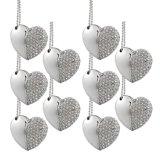 Выдвиженческий привод вспышки USB диаманта ювелирных изделий формы сердца подарка