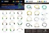 De enige Optische Verbindingsdraden van 9/125 Vezel st-Sc van de Wijze Simplex